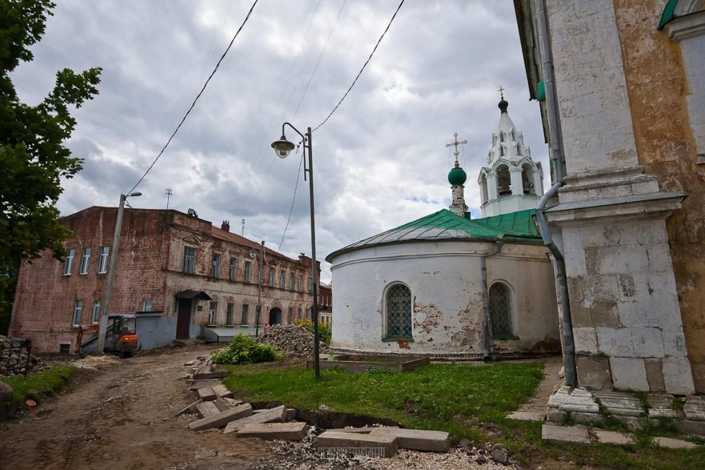 Реконструкция ул. Георгиевская во Владимире 18