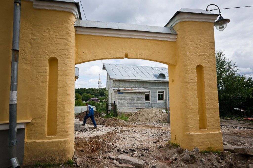 Реконструкция ул. Георгиевская во Владимире 19