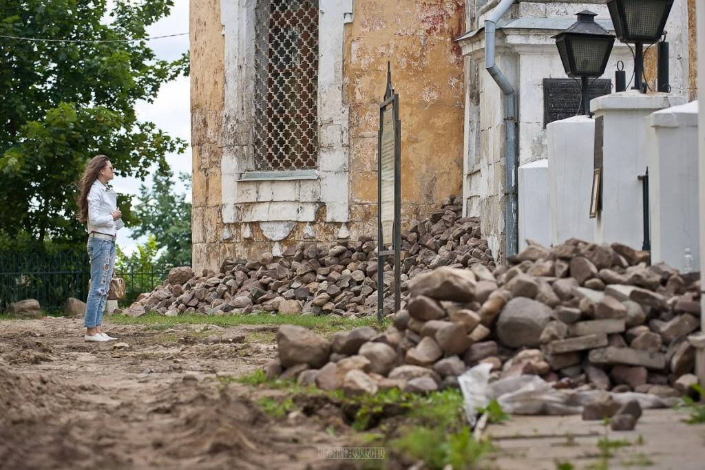 Реконструкция ул. Георгиевская во Владимире 23