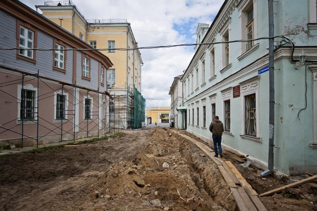 Реконструкция ул. Георгиевская во Владимире 25
