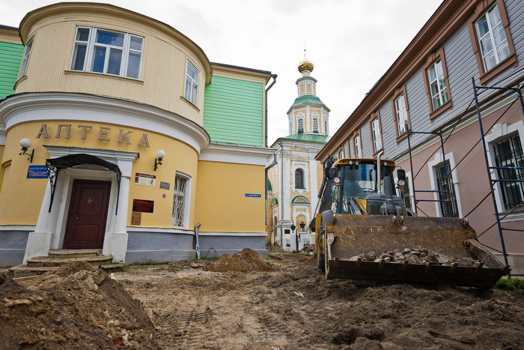 Реконструкция ул. Георгиевская во Владимире 26