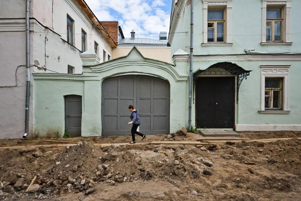 Реконструкция ул. Георгиевская во Владимире 27