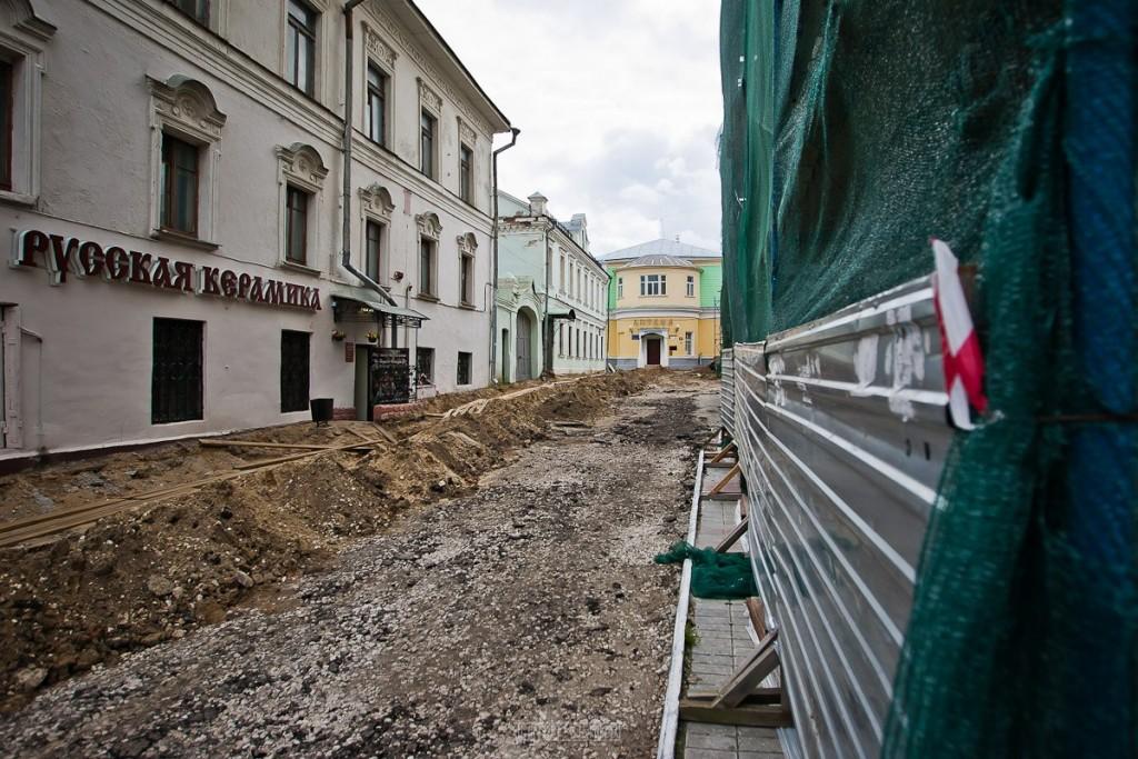 Реконструкция ул. Георгиевская во Владимире 29