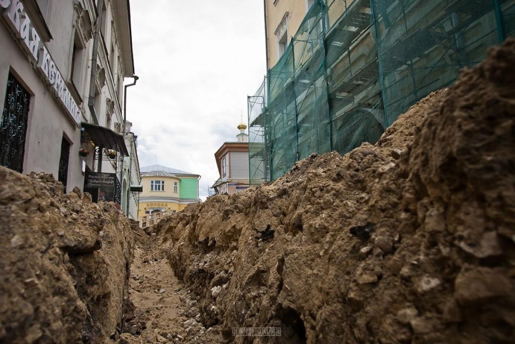 Реконструкция ул. Георгиевская во Владимире 30