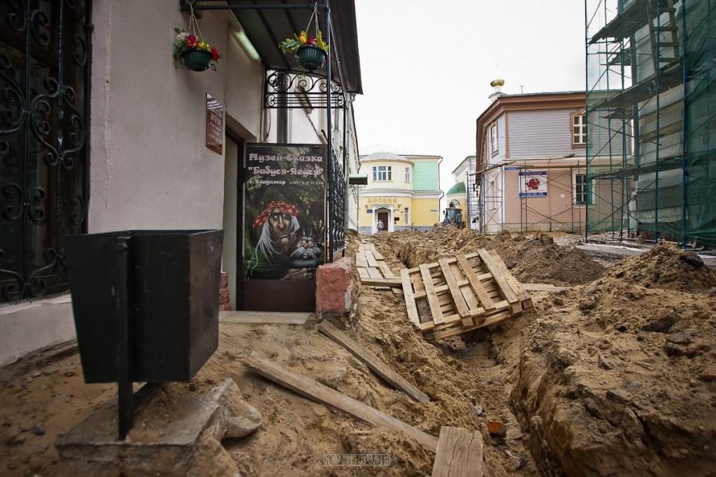 Реконструкция ул. Георгиевская во Владимире 31
