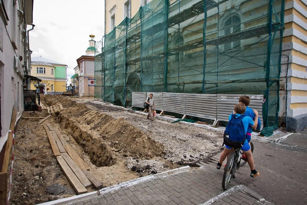 Реконструкция ул. Георгиевская во Владимире 32