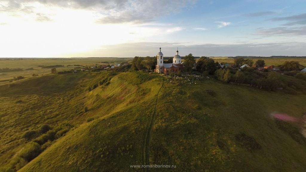 Село Горицы и Спасо-Преображенская церковь