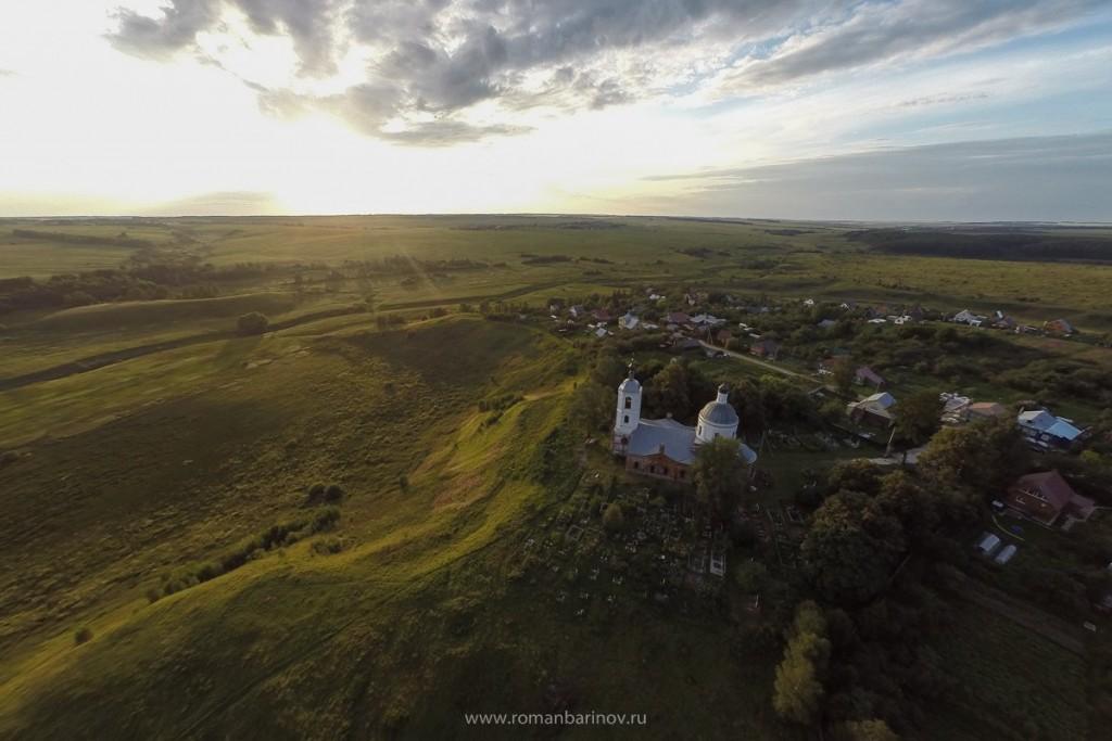 Село Горицы и Спасо-Преображенская церковь 2