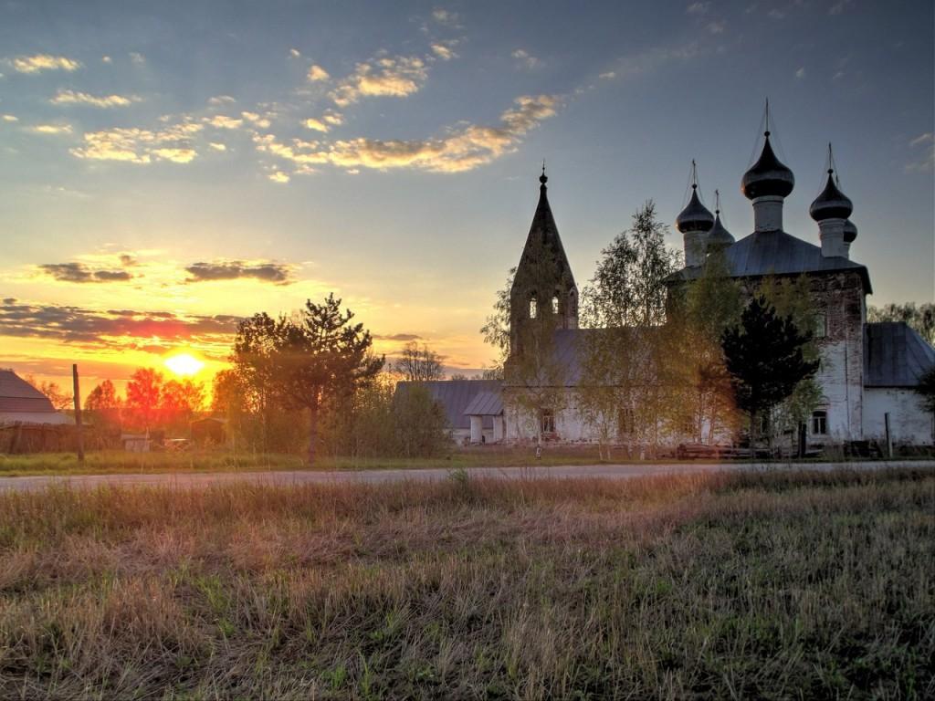 Село Малышево. Церковь Казанской иконы Божией Матери 01