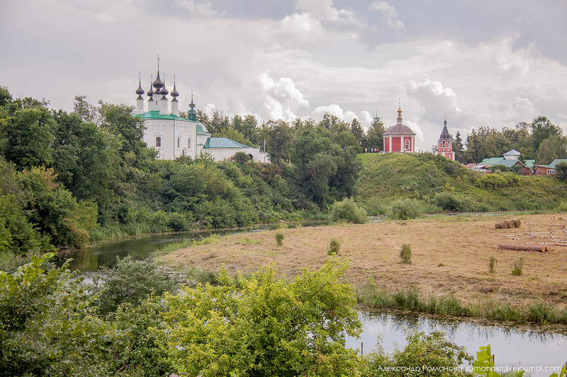 Суздаль. к Покровскому монастырю и обратно 3