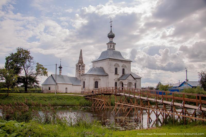 Суздаль. к Покровскому монастырю и обратно 5