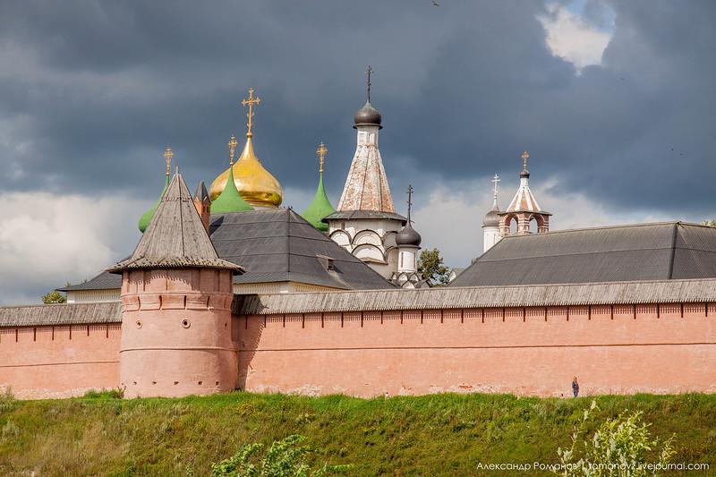Суздаль. к Покровскому монастырю и обратно 7