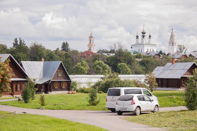 Суздаль. к Покровскому монастырю и обратно 9