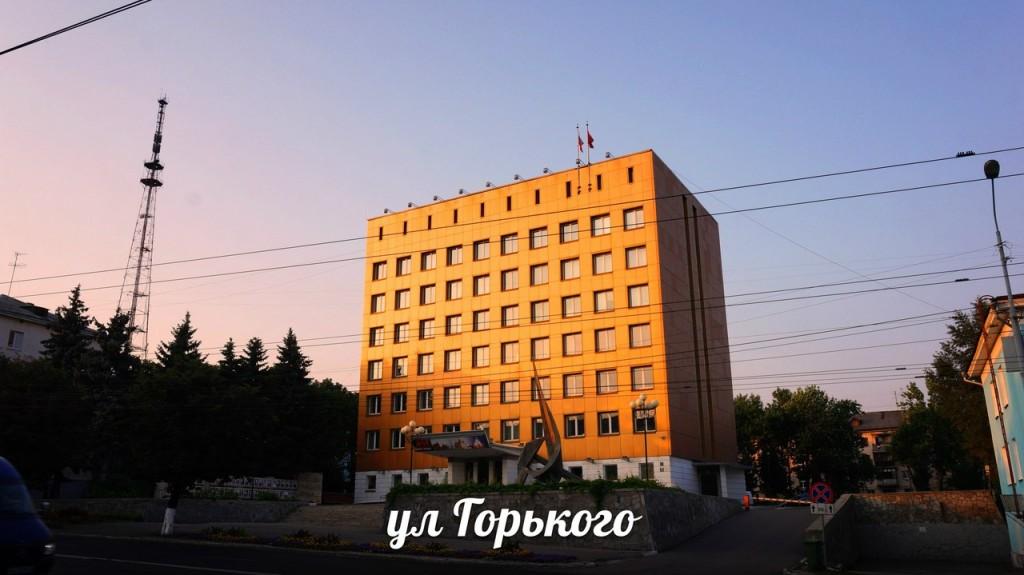 Улица Горького во Владимире
