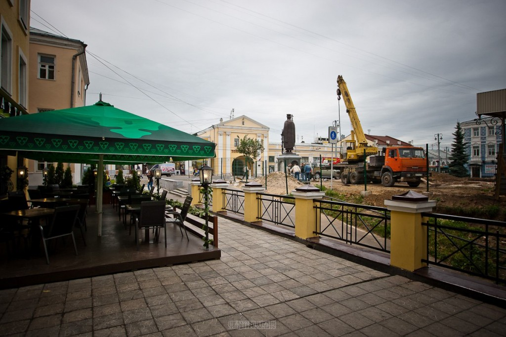Установка памятника князю Владимиру 18