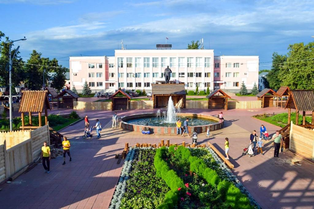 Центральная площадь в Муроме