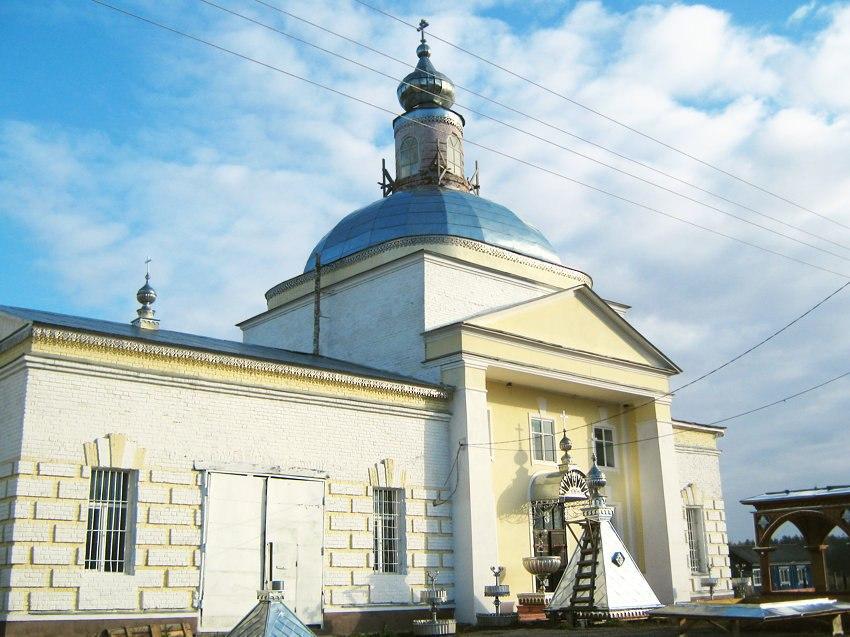 Церковь Вознесения Господня (с. Вешки, Гусь-Хрустальный район) 03