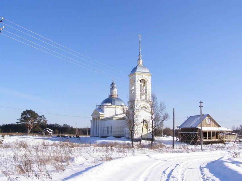 Церковь Вознесения Господня (с. Вешки, Гусь-Хрустальный район) 04