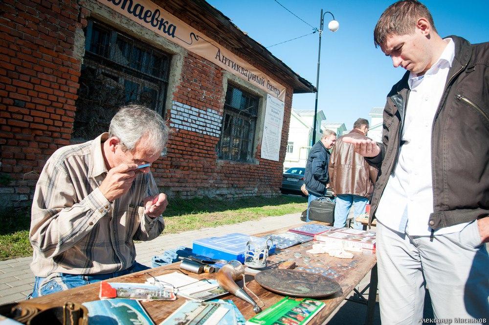 Антикварный базар Шалопаевка во Владимире 07