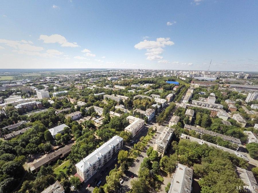 Аэросъемка улиц Владимира от Le Talo 01