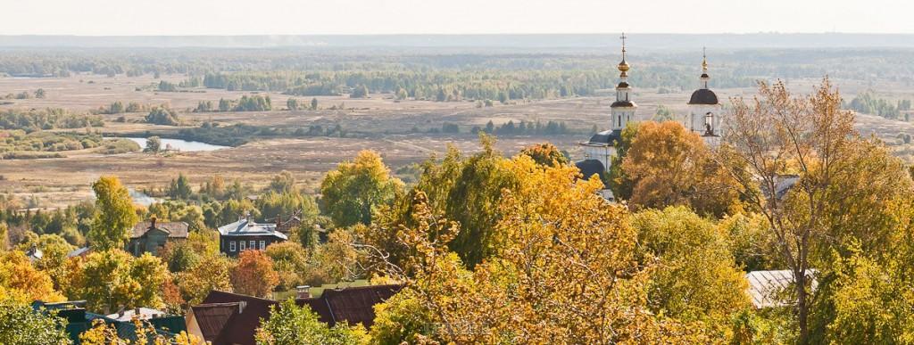 Владимирская панорама от Владимира Чучадеева