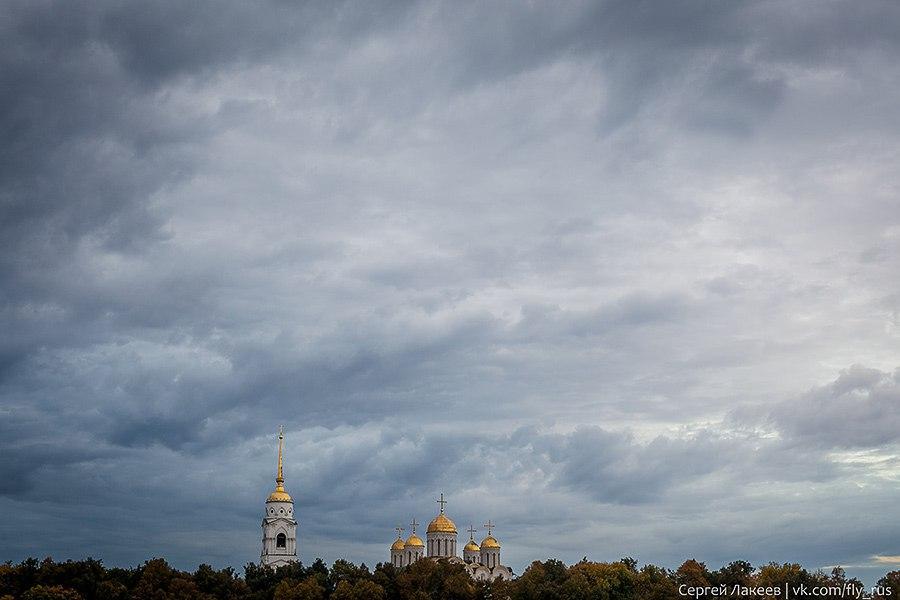 Владимирское небо от Сергея Лакеева