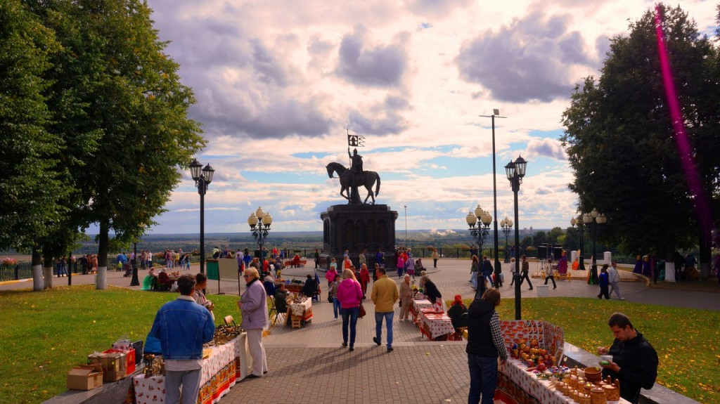 Владимир на День города