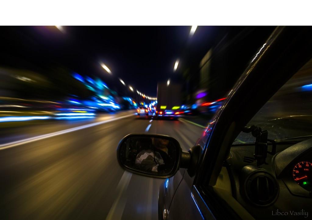 В движении по трассе М-7 в г.Владимир