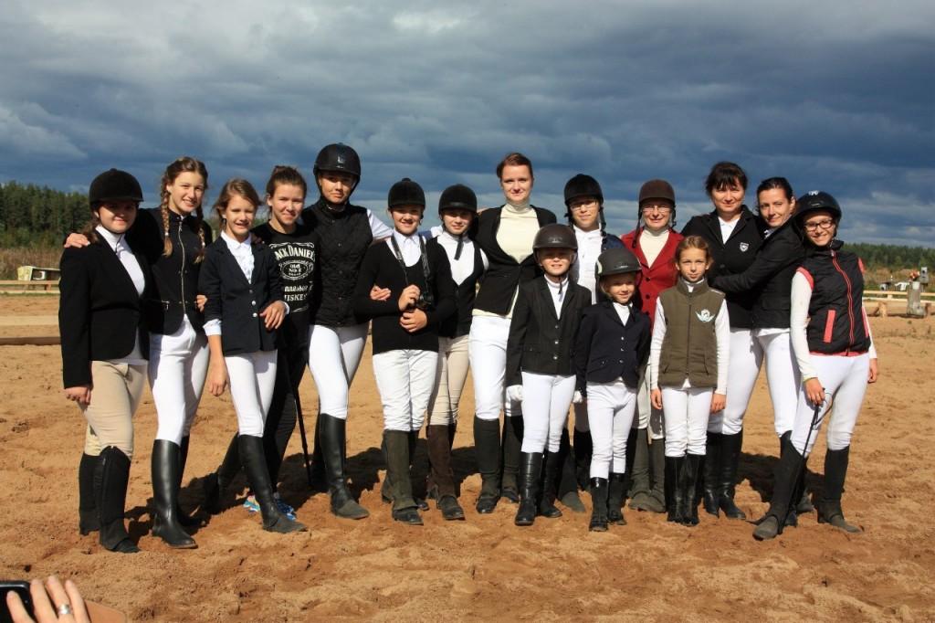 В деревне Старово прошли соревнования по конному спорту 01