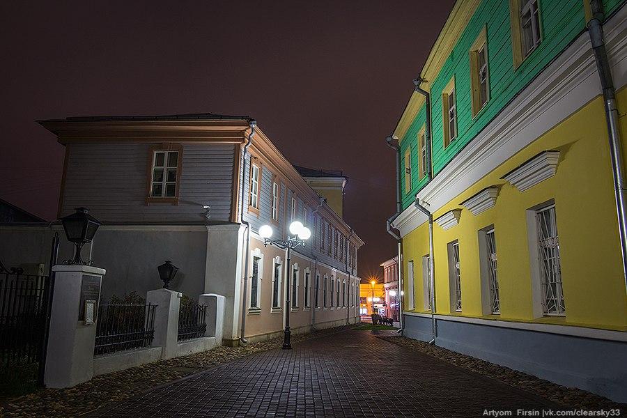 Город Владимир одетый в туман 02