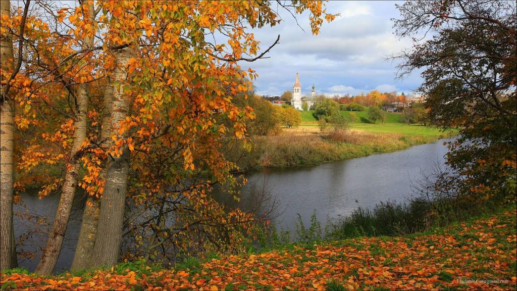 Золотая Осень в Суздале от автора Владимир Кот