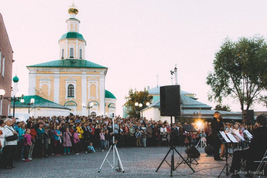 Музыкально-оркестровый пятничный вечер на Георгиевской. 01