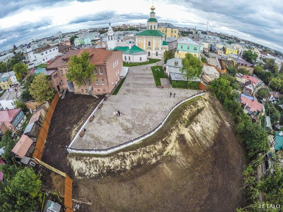 Новая смотровая во Владимире