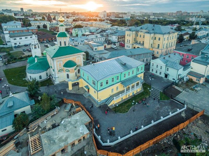 Новая смотровая площадка Владимира с высоты 01