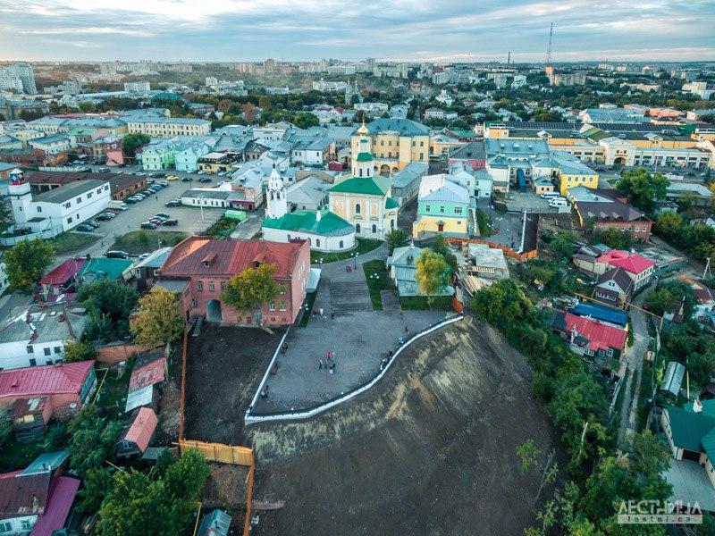 Новая смотровая площадка Владимира с высоты 02