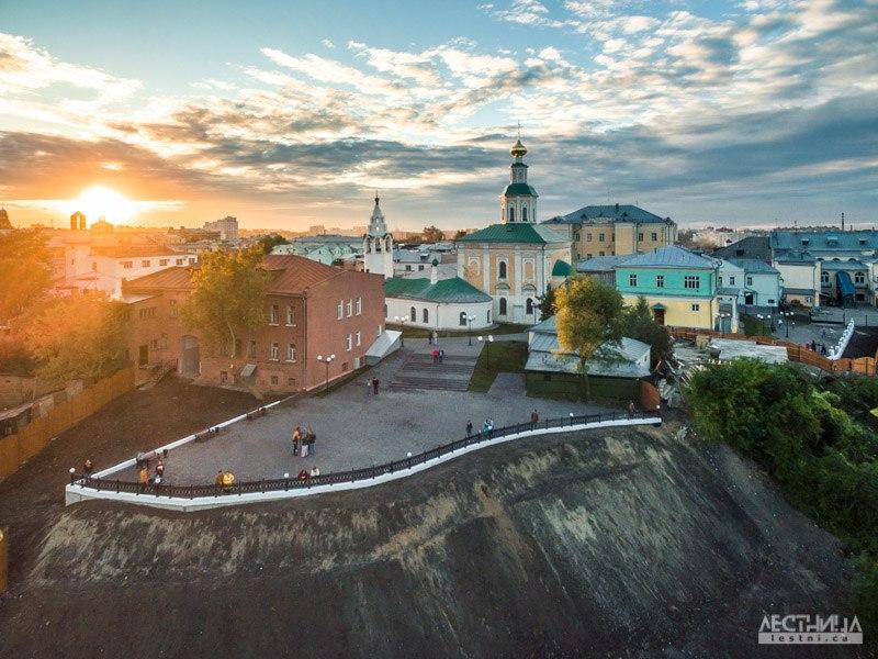Новая смотровая площадка Владимира с высоты 03