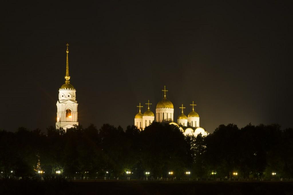 Ночной Владимир от Антона Блинкова