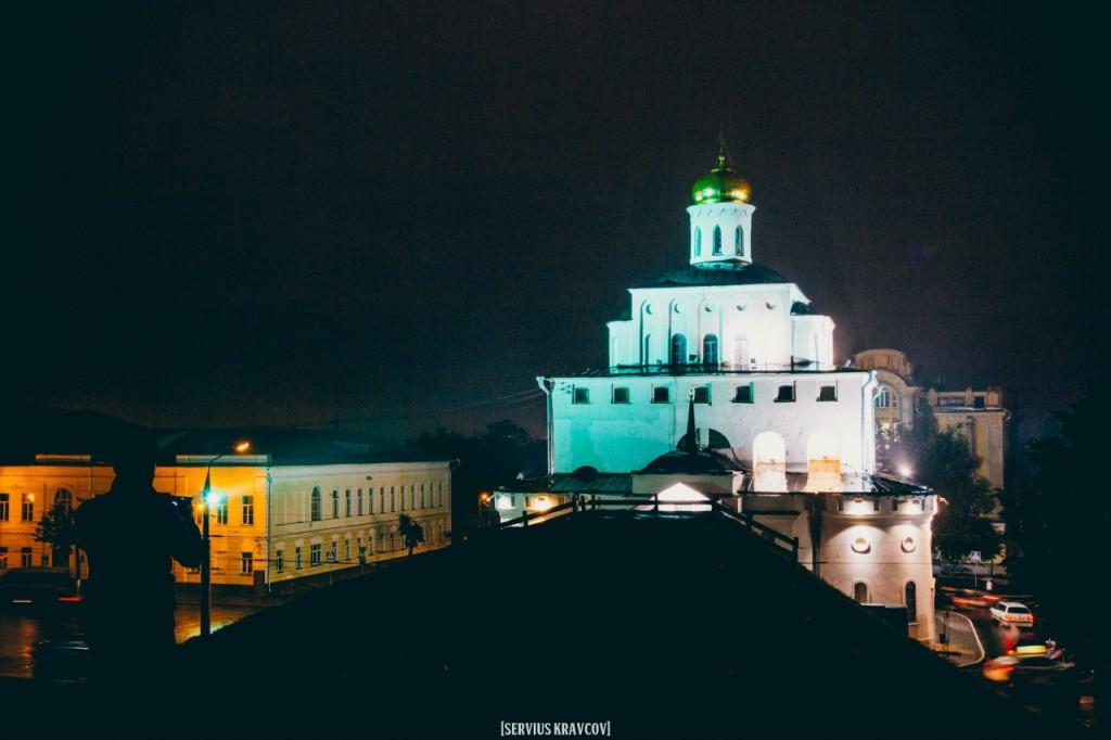 Ночной город Владимир от Сергея Кравцова 05