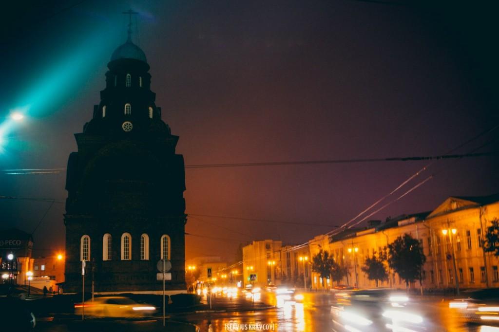 Ночной город Владимир от Сергея Кравцова 07