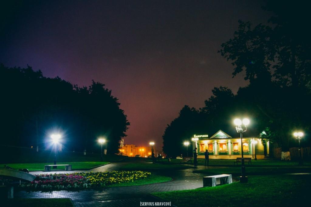 Ночной город Владимир от Сергея Кравцова 08