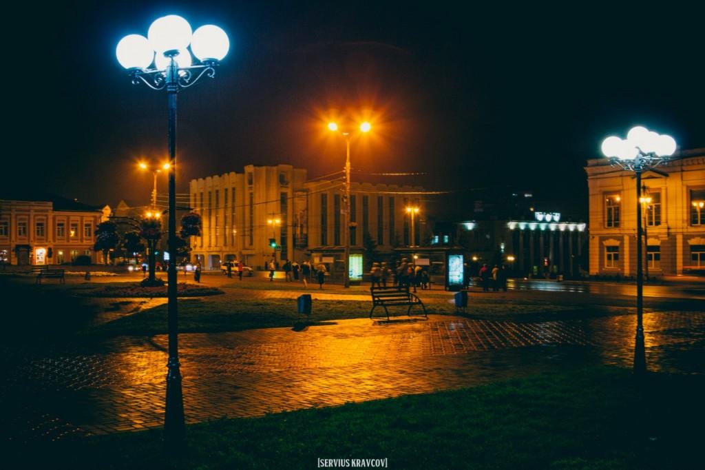 Ночной город Владимир от Сергея Кравцова 09