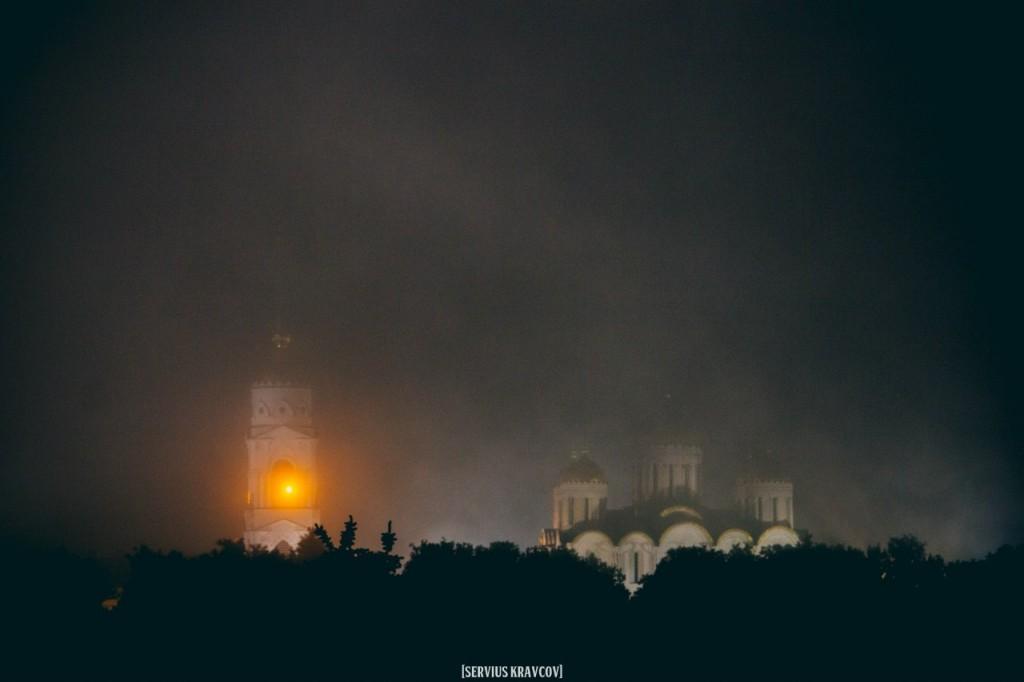 Ночной город Владимир от Сергея Кравцова 10
