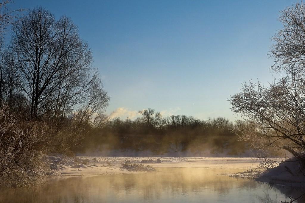 Озеро Пакино. Левая старица реки Клязьмы на западе города Коврова 01