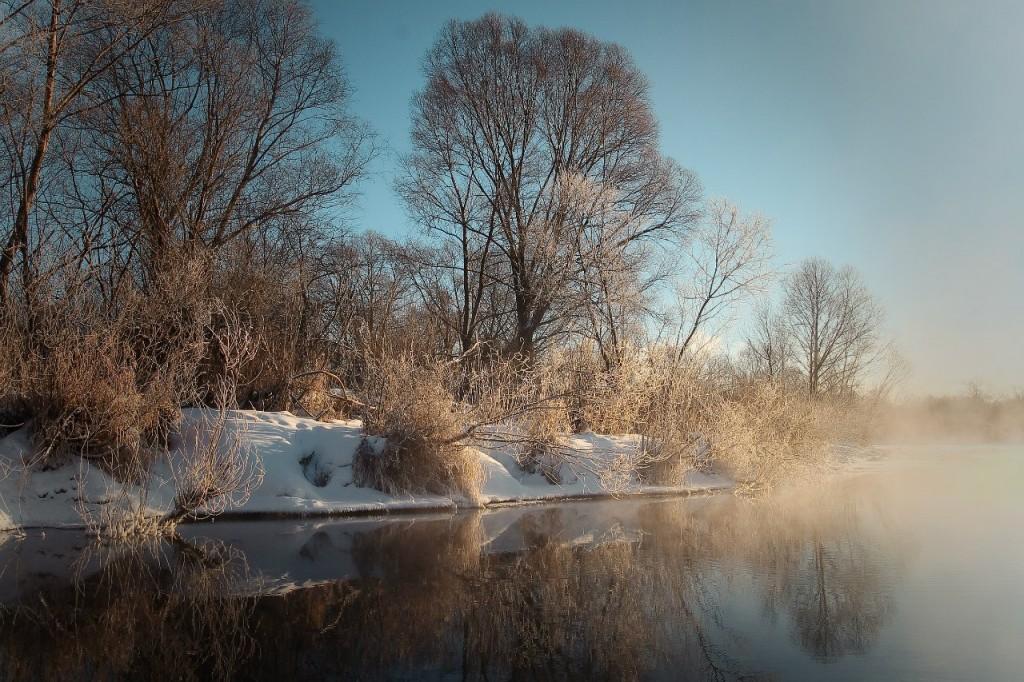Озеро Пакино. Левая старица реки Клязьмы на западе города Коврова 03