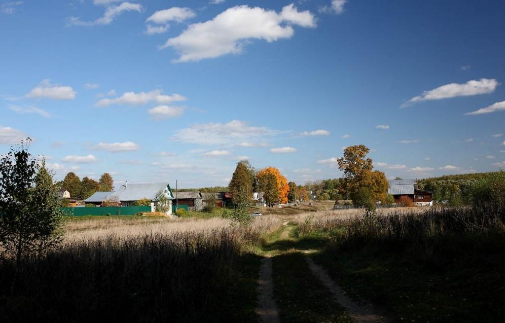 Осенняя деревня. Ковровский район, деревня Медынцево 01