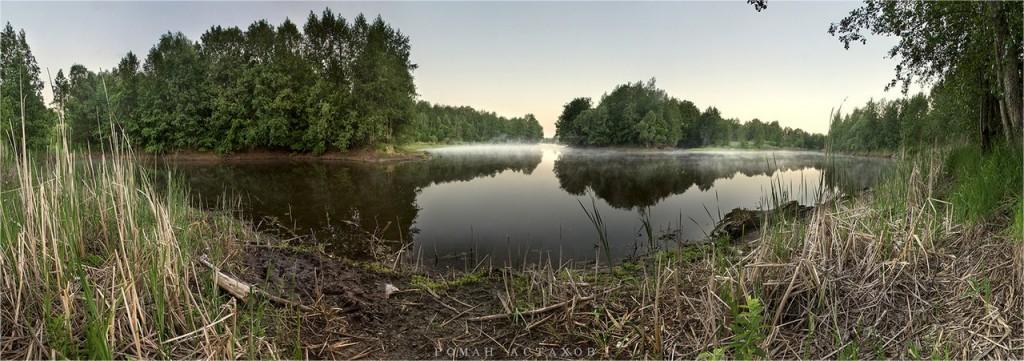 Панорама на озере близ г.Муром