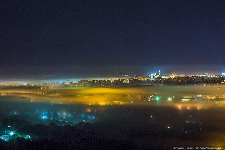 Покрывало из тумана во Владимире 01