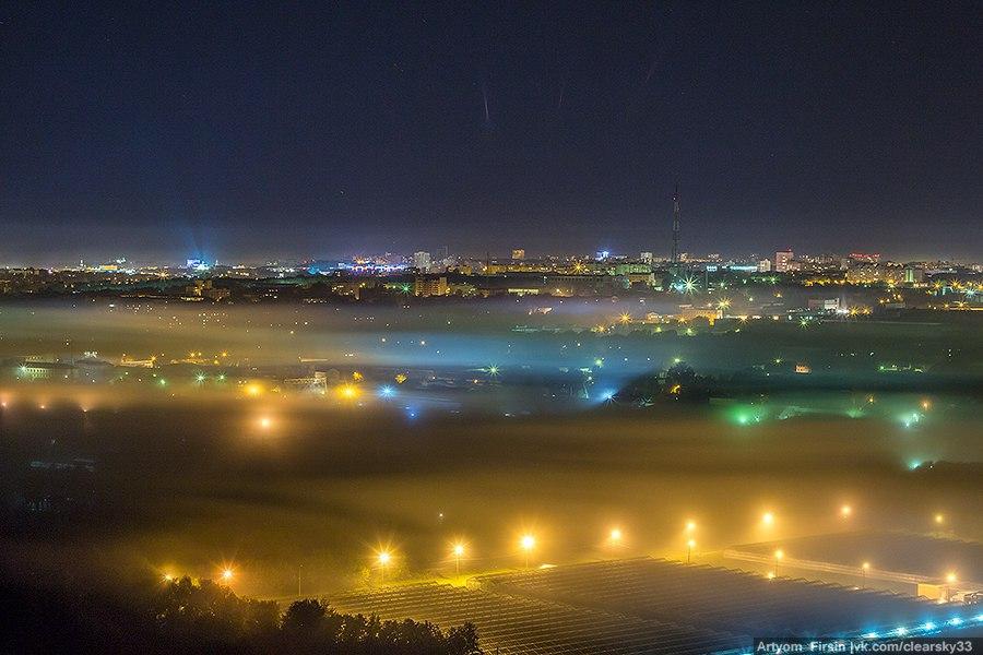 Покрывало из тумана во Владимире 02