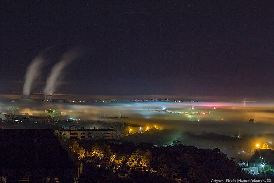 Покрывало из тумана во Владимире 03