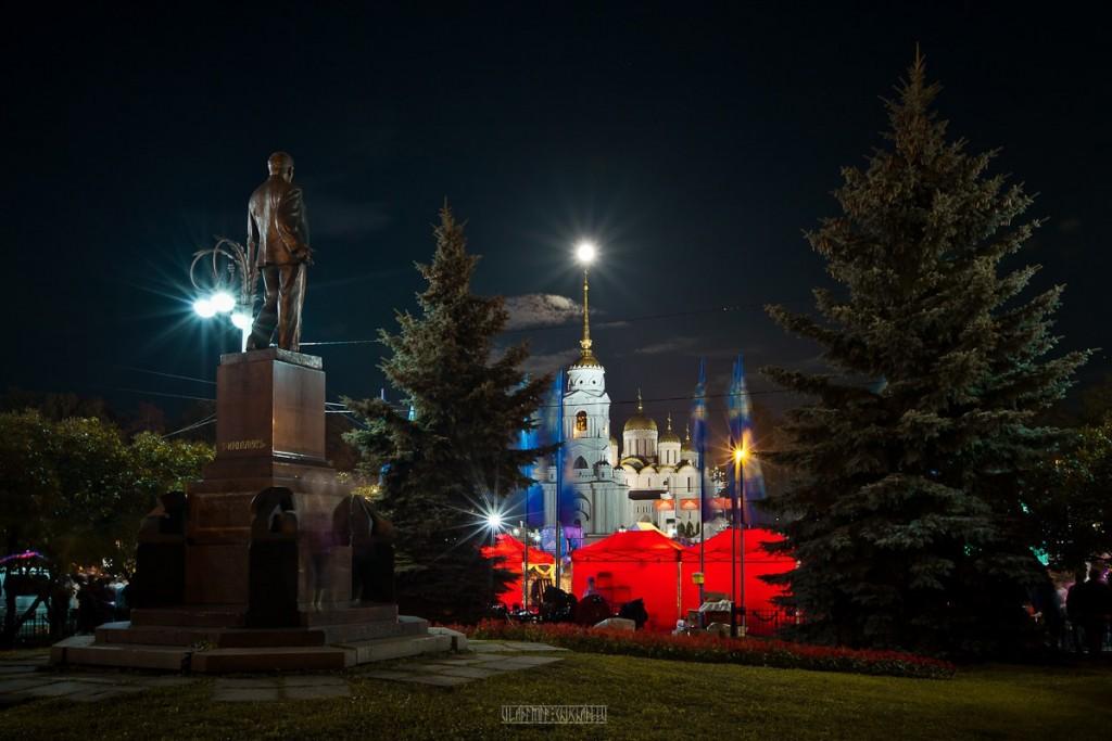 Праздничный Владимир на День города 03